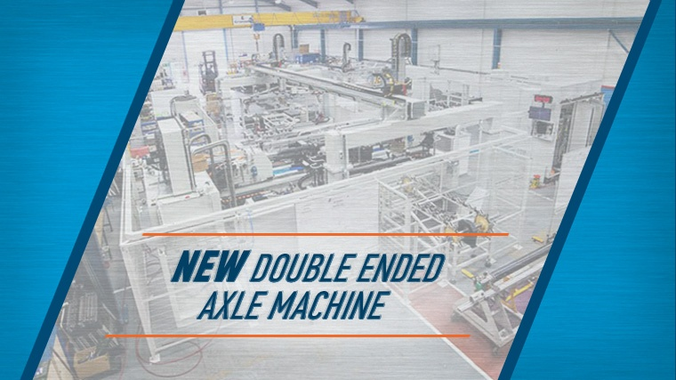 MTI's New Double Axle Friction Welding Machine