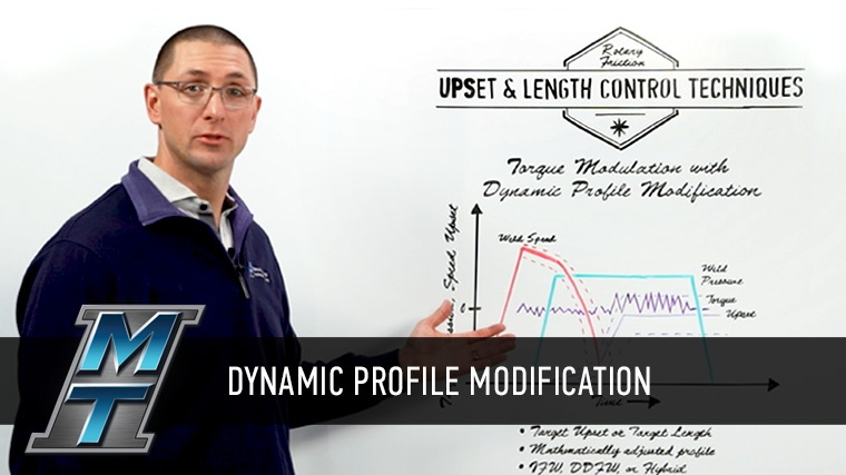 MTI's Dan Adams explains troque modulation with dynamic profile modification