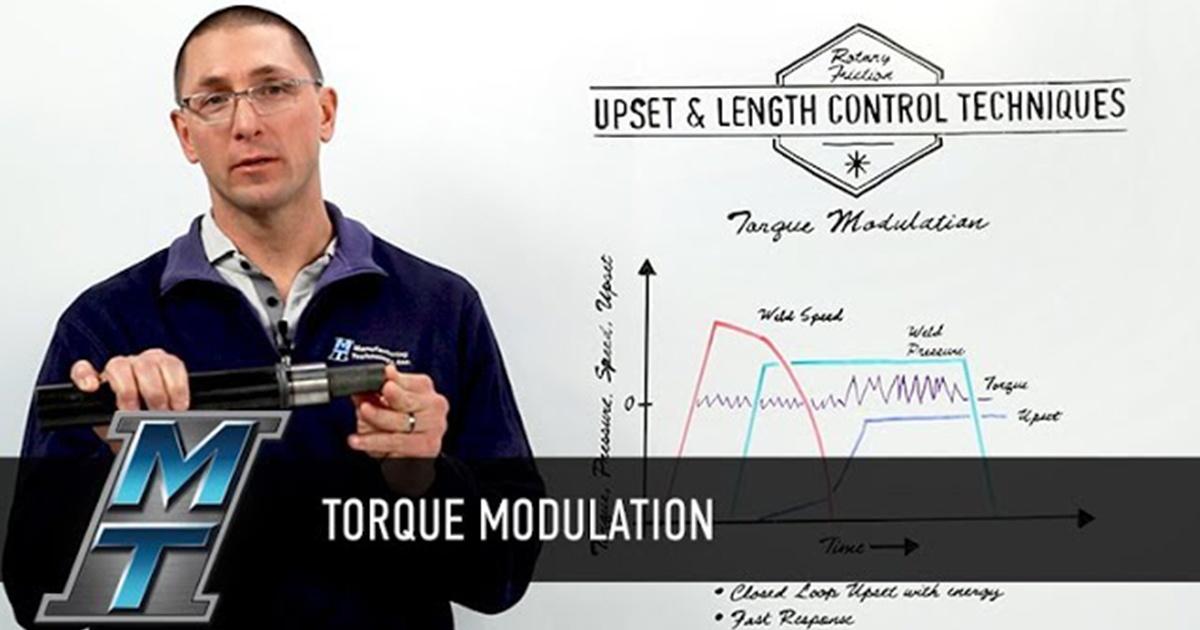 Whiteboard Wednesday: Upset Control and Torque Modulation